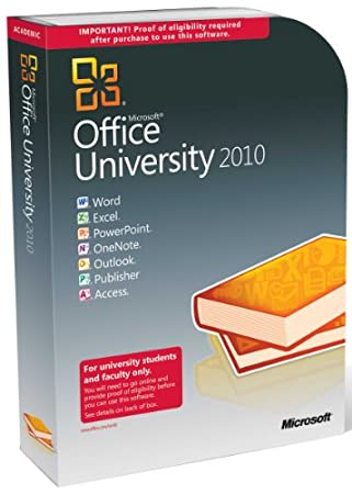 Microsoft Office University 2010 (PC)