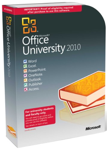 Microsoft Office University 2010 [import anglais]