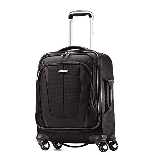 Samsonite Silhouette Sphere 2 Softside 19 Inch Spinner, Black, One Size