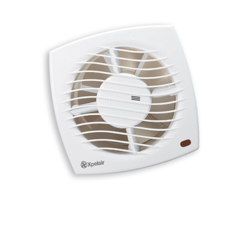 Xpelair SL150HT Toilet/Bathroom SLimline Axial Extractor Fan with Timer and Humidistat