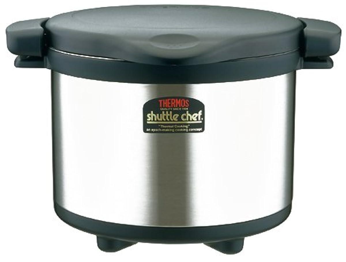 THERMOS 진공 보온 조리기 셔틀 세프(chef) 블랙 KPS-6000 BK-KPS-6000 BK