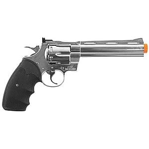 Amazon.com: Colt Python .357 Magnum Revolver Gas Powered Airsoft Gun ...