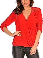 La Belle Parisienne Blusa Corinne (Rojo)