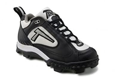 Buy Tanel 360° REV-D Low Cut Cleats. Mens Baseball Softball Shoes. SpiderFlexTM, Black, White &... by Tanel 360