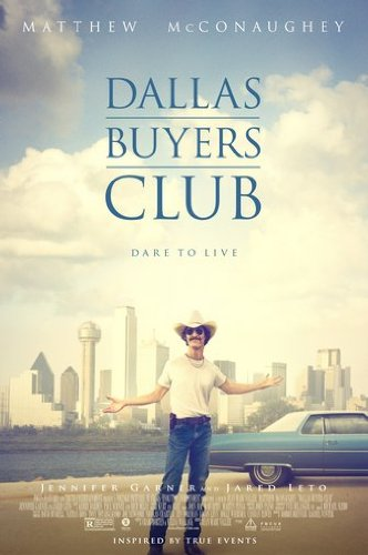 Dallas Buyers Club Movie Poster 24Inx36In
