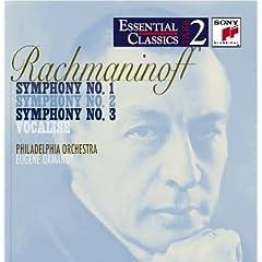 Rachmaninov: Symphony Nos.1-3/Vocalise