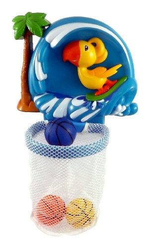 Shoot & Splash Basketball Hoop Bathtub Bath Toy for kids with 3 Balls