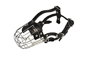 Dean and Tyler Wire Basket Muzzle, Size No. 3 - Miniature Schnauzer