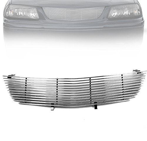 ZMAUTOPARTS Chevy Impala Front Upper Billet Grille Grill Insert W/O Emblem (Chevy Impala Front Emblem compare prices)