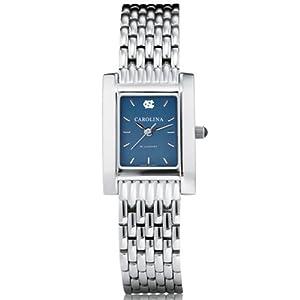UNC Ladies Swiss Watch - Blue Quad Watch with Bracelet by M.LaHart & Co.