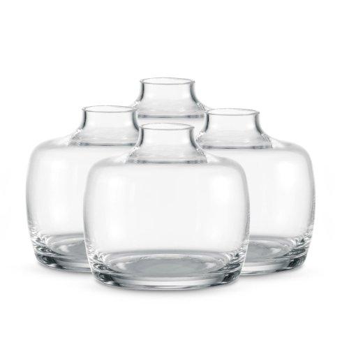 Cheap Dansk Bouquettes 2 12 Inch Clear Mini Vases Set Of 4 Reviews