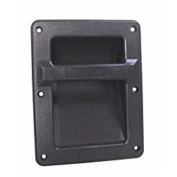 Pair of Speaker Cabinet Spring Flip Plastic Bar Handles 8.3\
