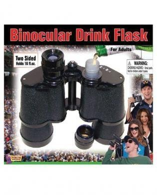 Binocular Drink Flask (Package Of 3)