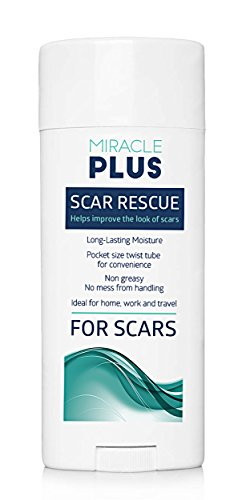 Miracle Plus Scar Removal Cream, Medical Reducing Scar Dressings and Stretch Mark Ointment, Professional Ultimate Skin Care Treatments and Products for Maternity,Weight loss, Cuts and Scabs, 15 Grams, Lifetime Satisfaction Guarantee