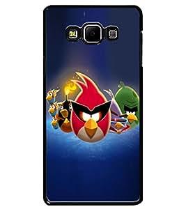 ColourCraft Amazing Birds Design Back Case Cover for SAMSUNG GALAXY A7