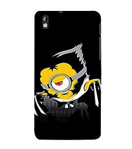 EPICCASE Abstarct Black Minion Mobile Back Case Cover For HTC Desire 816 (Designer Case)