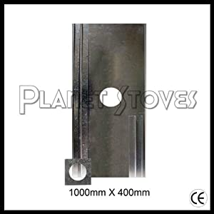 inch (125mm) Stainless stove pipe / flue pipe