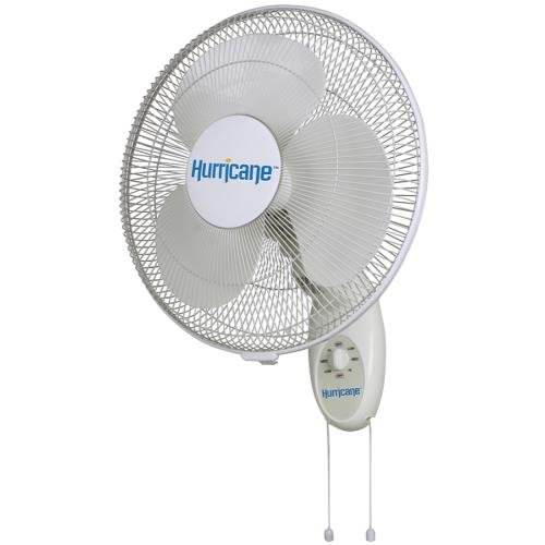 Hurricane Supreme Wall Mount Fan, 16-Inch (Oscillating Outdoor Mount Fan compare prices)