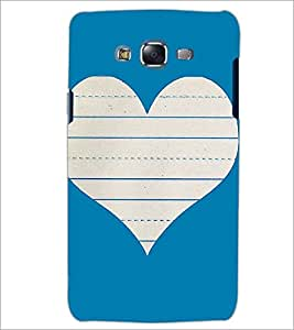 PrintDhaba Heart D-1453 Back Case Cover for SAMSUNG GALAXY J5 (Multi-Coloured)