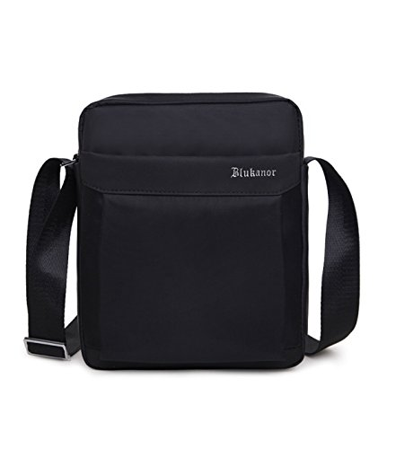 DoubleVillages borsello tracolla uomo Borsa a Tracolla/ messenger piquadro/ borsello Uomo Messenger business / Borsa Messenger / Borsa Borsetta a spalla /Messenger bag /sling bag /chest bag /crossbody bag/ Zainetto Monospalla -Nero-impermeabile