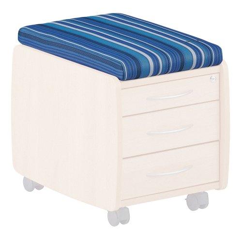Kettler-06775-100-Sitzkissen-blau-gestreift