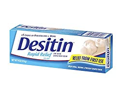 Desitin Rapid Relief Diaper Rash Cream - 113g (New Packing)