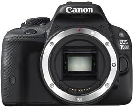 Canon EOS 100D Appareil photo numérique Réflex 18,4 Mpix Boîtier Nu Noir