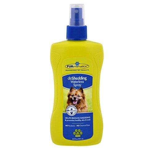 Artikelbild: FURminator deShedding Wasserlosen Spray, 236ml für Hunde und Katzen Badewanne Spray