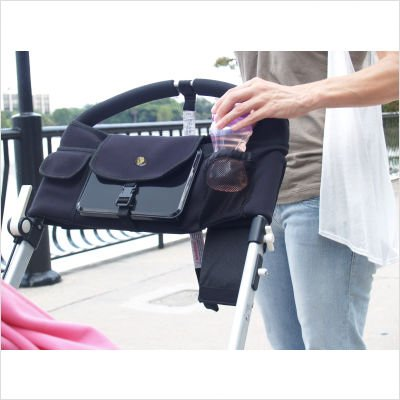 Baby Beehavin' Stroller DVD Player Holder & Pouch Organizer - 1