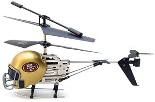 NFL San Francisco 49'ers Remote Control Helmet Helicopter
