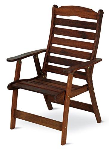 Dajar sedia da Lindemann, merbau, marrone