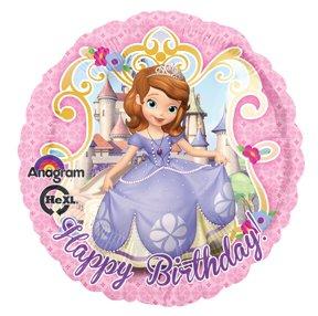 Imagen de Disney SOFIA LOS PRIMEROS partido del feliz cumpleaños Globos Decoraciones Suministros