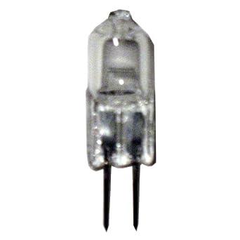 12 pcs Halogen JC Type Light Bulb G4 Base 12V 10W Watt