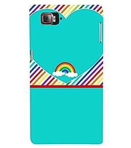 Beautiful Rainbow Pattern 3D Hard Polycarbonate Designer Back Case Cover for Lenovo Vibe Z2 Pro K920