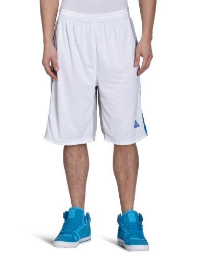 Peak Sport Europe, Pantaloni corti Uomo Jason Kidd I, Bianco (white-grey), S