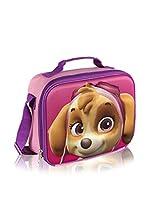 Paw Patrol Bolsa porta alimentos Portameriendas Térmico 3D Patrulla Canina Skye (Rosa)