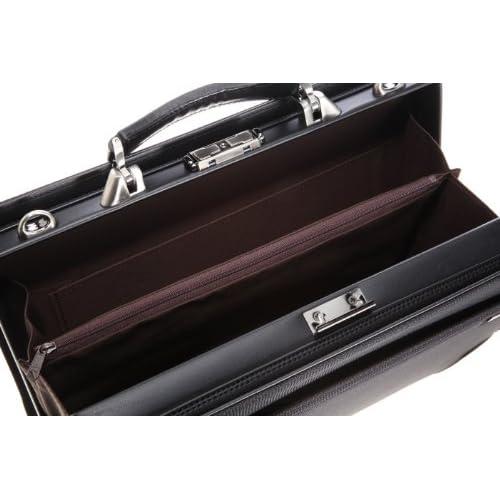 [アイエスプラス] is・+ IS+ 革手ハンドル39cmダレスバッグ 日本製 230-1001 1 (ブラック)