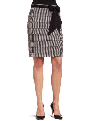 Eva Franco Women's Denim Cake Skirt