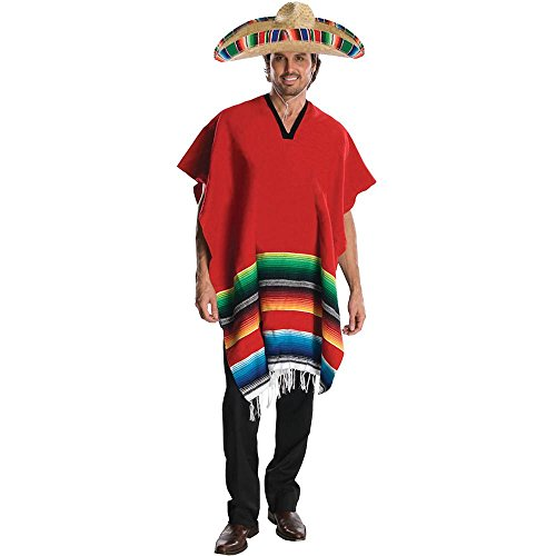 Mexican Hombre Adult Costume - Standard