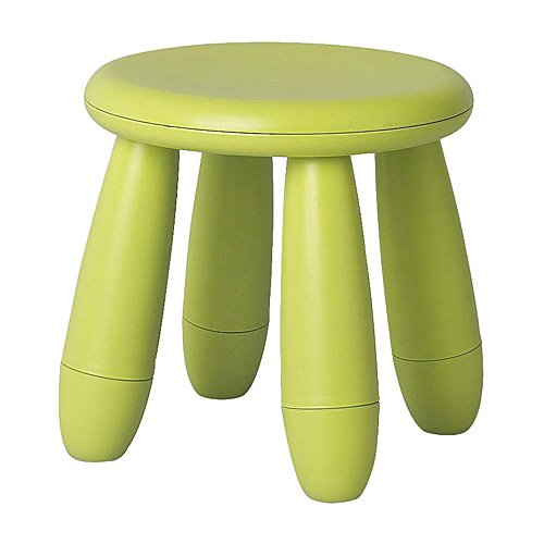 Mammut Childrens Green Stool