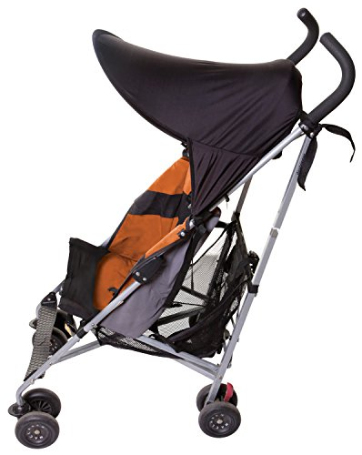 Dreambaby Strollerbuddy Extenda-Shade, Black, Medium