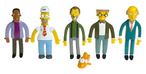 Best Price Bendables Simpsons Power Plant Collectible Boxed SetB0000E3BUD