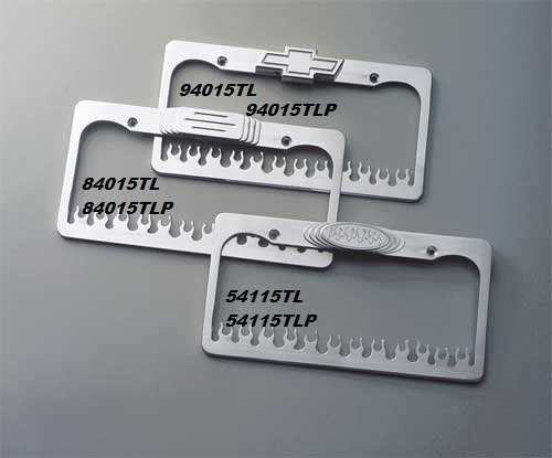 Vintage Parts 557463 1 Fast 94 White Stamped Aluminum European License Plate