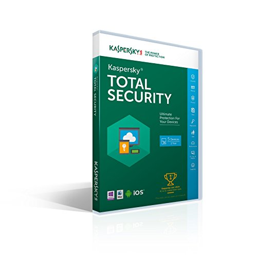 Kaspersky Total Security 2016 | 5 Devices |  1 Year [Key Card] (Kaspersky compare prices)