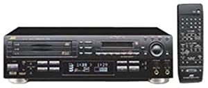 JVC XU-301BK 3-CD/1-Minidisc Player/Recorder