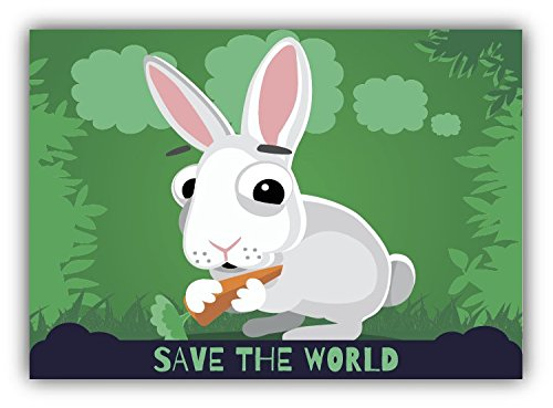 save-the-world-rabbit-cartoon-animal-greenpeace-slogan-de-haute-qualite-pare-chocs-automobiles-autoc