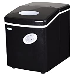 NewAir AI-100BK 28-Pound Portable Ice Maker, Black