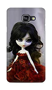 Amez designer printed 3d premium high quality back case cover for Samsung Galaxy A5 (2016 EDITION) (Beautiful Bride Doll)