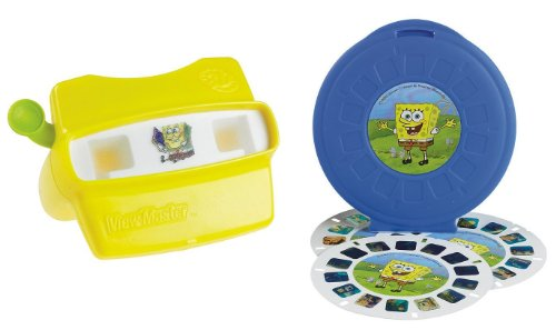 Toy / Game Fisher-Price Spongebob Squarepants View-Master 3D Gift Set - Open Up An Exciting World Of Fun front-1054115