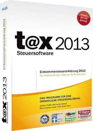 t@x 2013 (für Steuerjahr 2012)